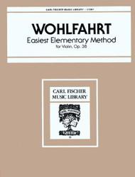 Easiest Elementary Method, Opus 38, Violin