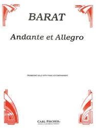 Andante Et Allegro, Trombone, Piano