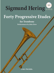 Forty Progressive Etudes, For Trombone, Euphonium Bass Clef
