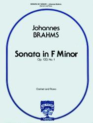 Sonata In F Minor, Op. 120, No. 1, Clarinet & Piano