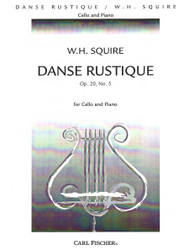 Danse Rustique, Opus 20, No. 5, Cello Solo, Piano