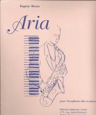 Aria, Alto Saxophone, Piano