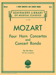Four Horn Concertos And Concert Rondo, French Horn And Piano