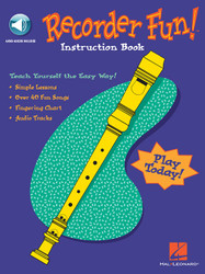 Recorder Fun! Teach Yourself The Easy Way!, Book/Online Audio Pack