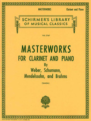 Masterworks For Clarinet And Piano, Book Only