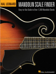 Mandolin Scale Finder, Easy-To-Use Guide To Over 1,300 Mandolin Chords 9 Inch. X 12 Inch. Edition, 9 Inch. X 12 Inch. Edition