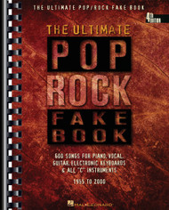 The Ultimate Pop/Rock Fake Book - 4Th Edition, C Edition, Melody/Lyrics/Chords