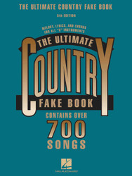 The Ultimate Country Fake Book - 5Th Edition, C Instruments