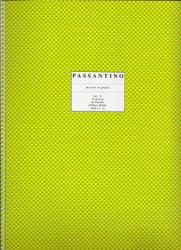 75. Spiral Book: 12-Stave, Passantino Manuscript Paper
