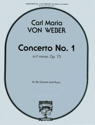 Concerto No. 1 In F Minor, Op. 73 For Clarinet And Piano