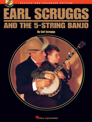 Earl Scruggs And The 5-String Banjo, Revised And Enhanced Edition, Book/Cd Pack
