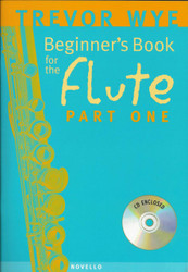 Beginner's Book For The Flute - Part One, Part One - Book/Cd Pack