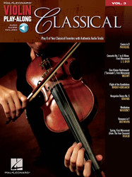 Classical, Violin Play-Along Volume 3, Book/Online Audio Pack