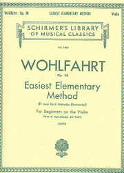 Easiest Elementary Method For Beginners, Op. 38, Violin Method