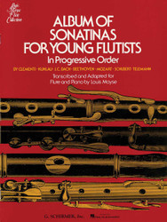 Album Of Sonatinas For Young Flutists, In Progressive Order For Flute & Piano