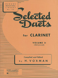 Selected Duets For Clarinet, Volume 2 - Advanced
