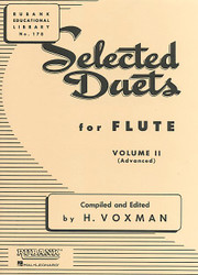 Selected Duets For Flute, Volume 2 - Advanced