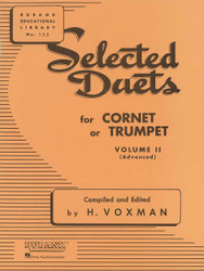 Selected Duets For Cornet Or Trumpet, Volume 2 - Advanced