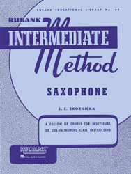 Rubank Intermediate Method - Saxophone