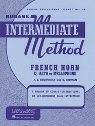 Rubank Intermediate Method - French Horn In F Or E-Flat, F Or E Flat Horn