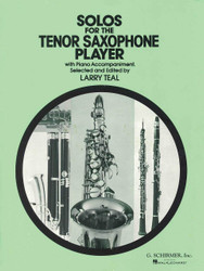 Solos For The Tenor Saxophone Player, Tenor Sax And Piano