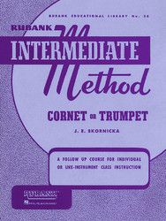 Rubank Intermediate Method - Cornet Or Trumpet, Cornet/Trumpet