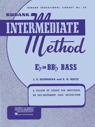 Rubank Intermediate Method - E-Flat Or Bb-Flat Bass Tuba, E Flat Or B Flat Bass