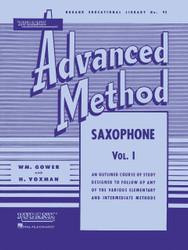 Rubank Advanced Method - Saxophone Vol. 1