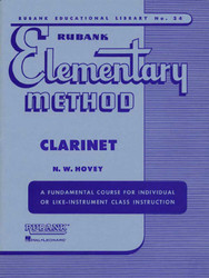 Rubank Elementary Method - Clarinet