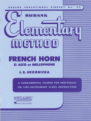 Rubank Elementary Method - French Horn In F Or E-Flat And Mellophone