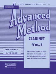 Rubank Advanced Method - Clarinet Vol. 1