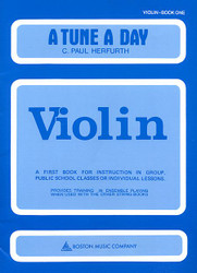 A Tune A Day - Violin, Book 1
