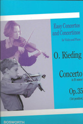 Concerto In B Minor, Op. 35, Easy Concertos And Concertinos Series For Violin And Piano