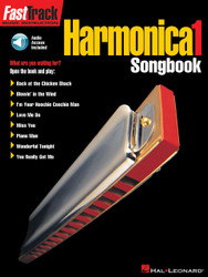 Fasttrack Harmonica Songbook - Level 1, Book/Online Audio Pack