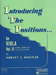 Introducing The Positions For Viola, Volume 2 - Second, Fourth And Fifth