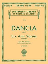 6 Airs Varies, Op. 89, Violin And Piano