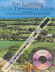 The Complete Irish Tinwhistle Tutor, Book/Cd Pack