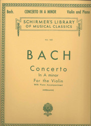 Concerto In A Minor, Score And Parts