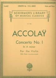 Concerto No. 1 In A Minor, Score And Parts