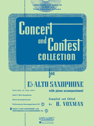 Concert And Contest Collection For Eb Alto Sax - Book/Cd Pack