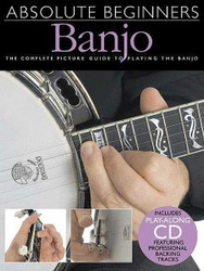 Absolute Beginners - Banjo, Book/Cd Pack