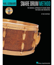 Hal Leonard Snare Drum Method, The Musical Approach To Snare Drum For Band And Orchestra, Book/Cd Pack