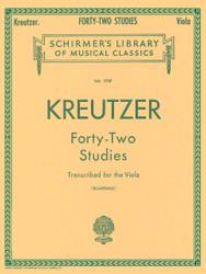 42 Studies Transcribed For The Viola, Viola Method