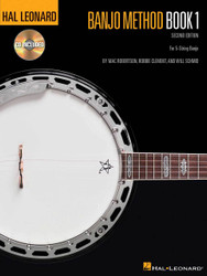 Hal Leonard Banjo Method - Book 1, For 5-String Banjo, Book/Cd Pack