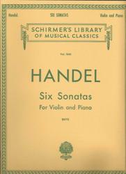 Six Sonatas, Violin And Piano