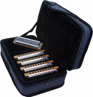 Hohner 1896 Marine Band Case Harmonica - Key of C, G, A, D, E
