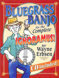Bluegrass Banjo For The Complete Ignoramus Book/Cd Set