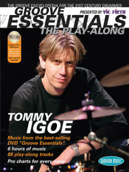 Groove Essentials - The Play-Along, A Complete Groove Encyclopedia For The 21St Century Drummer, Book/Cd Pack
