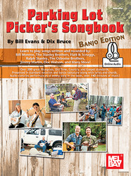Parking Lot Picker's Songbook - Banjo (Book + Online Audio)