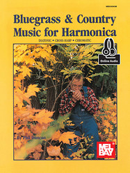 Bluegrass & Country Music for Harmonica (Book + Online Audio)